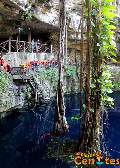 Cenote Oxman en Hacienda San Lorenzo, Cenotes en Yucatán